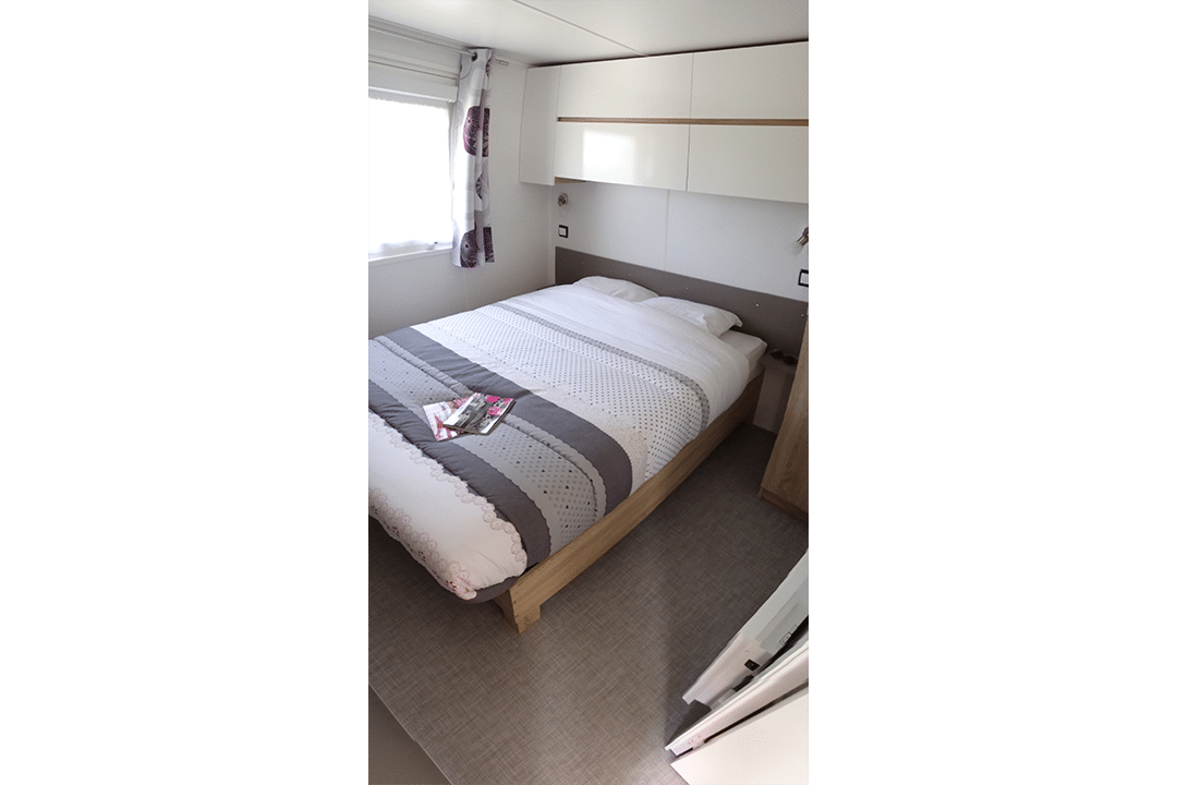 Mobil-home Famille 3 chambres lit double