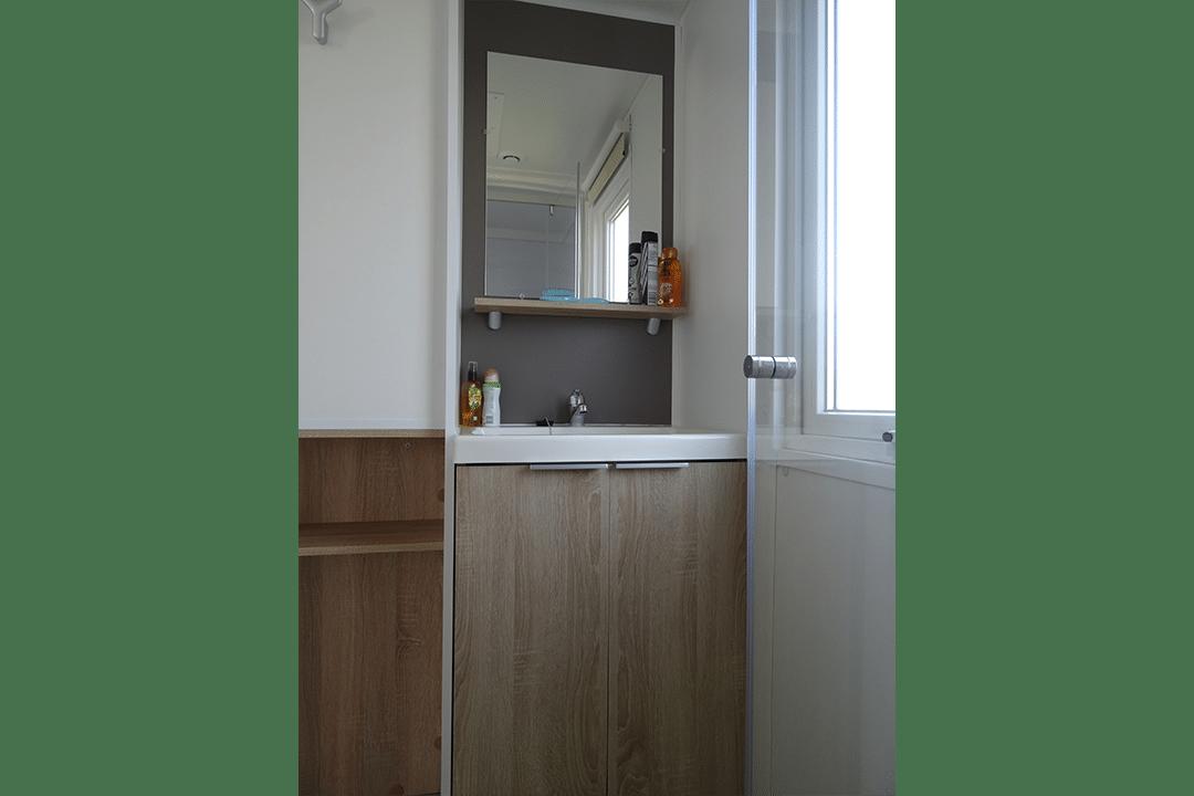Mobil-home Famille - salle de bain