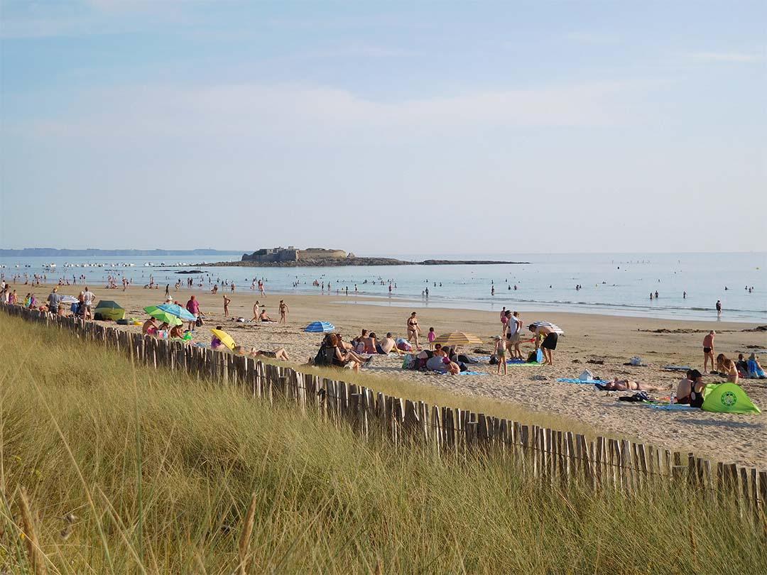 Baignade plage Guidel Morbihan
