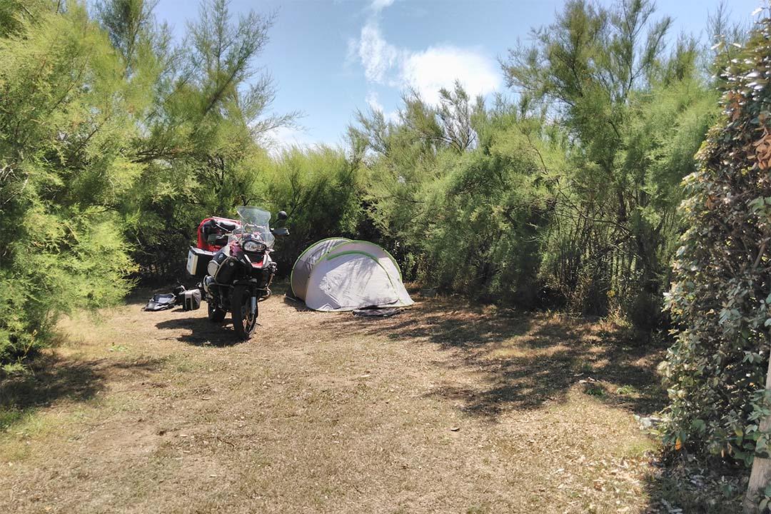 Emplacement tente Camping de la plage Guidel