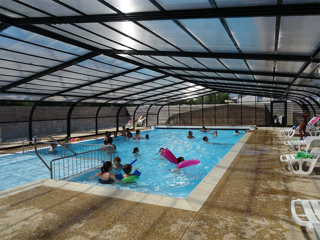 Camping piscine chauffée bord de mer bretagne