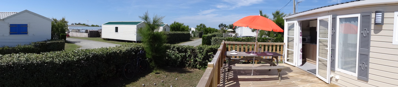 Bel emplacement en location pour vacances bord de mer