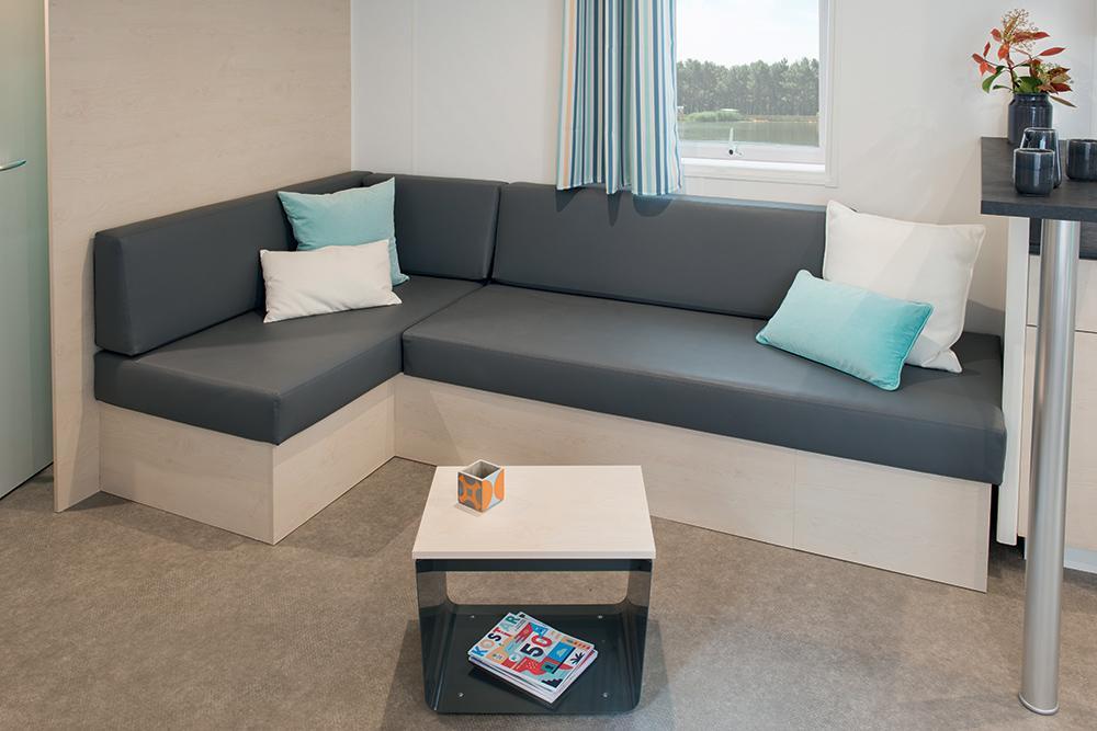 Mobil-home Famille 4 chambres smala - Salon