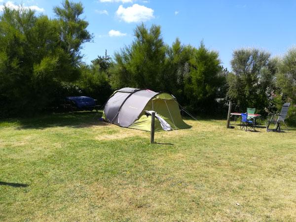Séjour au grand air en tente